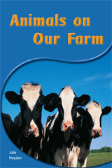 Rigby PM Shared Readers  Leveled Reader 6pk Yellow (Levels 6-8) Animals on Our Farm Animals on Our Farm-9781418942915
