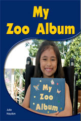 Rigby PM Shared Readers  Leveled Reader 6pk Yellow (Levels 6-8) My Zoo Album My Zoo Album-9781418942939