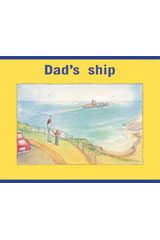 Rigby PM Stars  Leveled Reader 6pk Magenta (Levels 2-3) Dad's ship-9781418943219