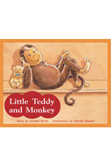 Rigby PM Stars  Leveled Reader 6pk Red (Levels 3-5) Little Teddy and Monkey-9781418943295