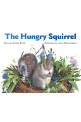 Rigby PM Stars  Leveled Reader 6pk Red (Levels 3-5) The Hungry Squirrel-9781418943356