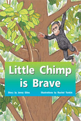 Rigby PM Stars  Leveled Reader 6pk Red (Levels 3-5) Little Chimp is Brave-9781418943363