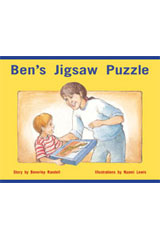 Rigby PM Stars  Leveled Reader 6pk Red (Levels 3-5) Ben's Jigsaw Puzzle-9781418943370