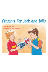 Rigby PM Stars  Leveled Reader 6pk Red (Levels 3-5) Presents for Jack and Billy-9781418943387