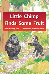 Rigby PM Stars  Leveled Reader 6pk Blue (Levels 12-14) Little Chimp Finds Some Fruit-9781418943561