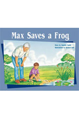 Rigby PM Stars  Leveled Reader 6pk Green (Levels 12-14) Max Saves a Frog-9781418943608