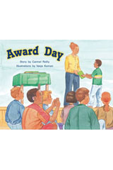 Rigby PM Stars  Leveled Reader 6pk Green (Levels 12-14) Award Day-9781418943622