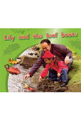 Rigby PM Photo Stories  Leveled Reader 6pk Magenta (Levels 2-3) Lily and the leaf boats-9781418943738