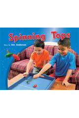 Rigby PM Photo Stories  Leveled Reader 6pk Green (Levels 12-14) The Spinning Tops-9781418944100
