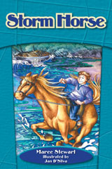 Steck-Vaughn On Ramp Approach Crossroads  Individual Student Edition Teal Storm Horse-9781418945367