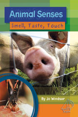 Rigby MainSails  Leveled Reader Bookroom Package Blue Animal Senses: Smell, Taste, Touch-9781418971687