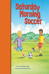 Rigby PM Stars Bridge Books  Leveled Reader 6pk Orange Saturday Morning Soccer-9781418985813