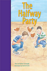 Rigby PM Stars Bridge Books  Leveled Reader 6pk Purple (Levels 19-20) The Halfway Party-9781418986049