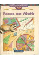 Focus on Math  Student Edition 10-Pack Grade 6, Level F Problem Solving-9781419003127