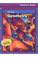 Steck-Vaughn Top Line Math  Teacher's Edition Geometry-9781419003837