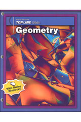 Steck-Vaughn Top Line Math  Student Edition 10-packs Geometry-9781419003943