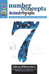 Middle School Collection: Math  Reproducible Number Concepts, Decimals, & Graphs-9781419004353