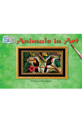 Steck-Vaughn Pair-It Turn and Learn Emergent 1  Leveled Reader 6pk Animals in Art/What Is That?-9781419006470