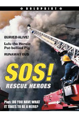 Steck-Vaughn BOLDPRINT Anthologies  Individual Student Edition Yellow SOS! Rescue Heroes-9781419023774