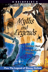 Steck-Vaughn BOLDPRINT Anthologies  Individual Student Edition Red Myths and Legends-9781419023996