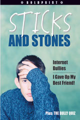 Steck-Vaughn BOLDPRINT Anthologies  Individual Student Edition Purple Sticks and Stones-9781419024184