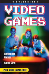 Steck-Vaughn BOLDPRINT Anthologies  Individual Student Edition Purple Video Games-9781419024221