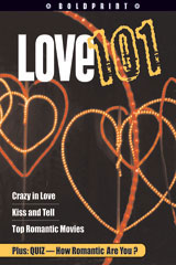 Steck-Vaughn BOLDPRINT Anthologies  Individual Student Edition Blue Love 101-9781419024405