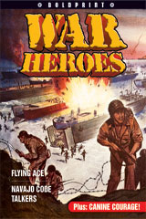 Steck-Vaughn BOLDPRINT Anthologies  Individual Student Edition Blue War Heroes-9781419024467