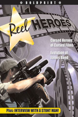 Steck-Vaughn BOLDPRINT Anthologies  Individual Student Edition Green Reel Heroes-9781419024498