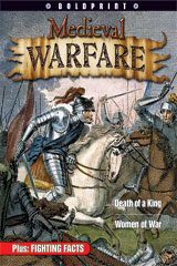 Steck-Vaughn BOLDPRINT Anthologies  Individual Student Edition Green Medieval Warfare-9781419024542
