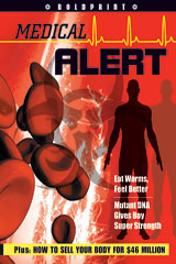 Steck-Vaughn BOLDPRINT Anthologies  Individual Student Edition Lime Medical Alert-9781419024597