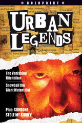 Steck-Vaughn BOLDPRINT Anthologies  Individual Student Edition Lime Urban Legends-9781419024627
