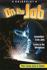 Steck-Vaughn BOLDPRINT Anthologies  Individual Student Edition Lime On the Job-9781419024665