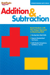 Strengthening Math Skills  Reproducible Addition and Subtraction-9781419033971