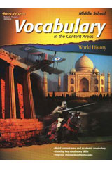Vocabulary in the Content Areas  Reproducible World History-9781419035029