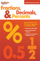 Strengthening Math Skills  Reproducible Fractions, Decimals, & Percents-9781419039027