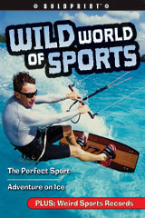 Steck-Vaughn BOLDPRINT Anthologies  Individual Student Edition Orange Wild World of Sports-9781419040207
