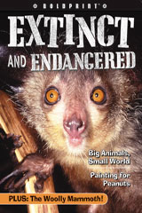 Steck-Vaughn BOLDPRINT Anthologies  Individual Student Edition Red Extinct and Endangered-9781419040238