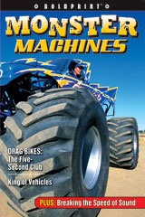Steck-Vaughn BOLDPRINT Anthologies  Individual Student Edition Magenta Monster Machines-9781419040245