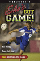 Steck-Vaughn BOLDPRINT Anthologies  Individual Student Edition Magenta She's Got Game!-9781419040252