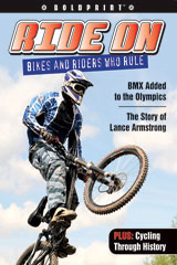 Steck-Vaughn BOLDPRINT Anthologies  Individual Student Edition Purple Ride On: Bikes and Riders Who Rule-9781419040269