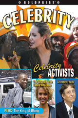 Steck-Vaughn BOLDPRINT Anthologies  Individual Student Edition Blue Celebrity!-9781419040313