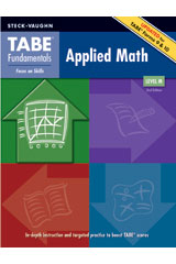 TABE Fundamentals Student Edition Applied Math, Level M