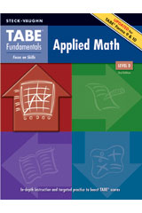 TABE Fundamentals  Student Edition Applied Math, Level D-9781419053580