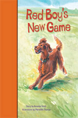 Rigby PM Stars Bridge Books  Individual Student Edition Orange Red Boy's New Game-9781419055027
