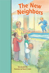 Rigby PM Stars Bridge Books  Individual Student Edition Turquoise The New Neighbors-9781419055072