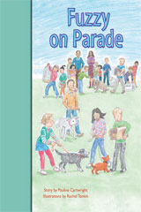 Rigby PM Stars Bridge Books  Individual Student Edition Turquoise Fuzzy on Parade-9781419055096