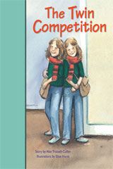 Rigby PM Stars Bridge Books  Individual Student Edition Turquoise The Twin Competition-9781419055102