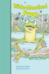 Rigby PM Stars Bridge Books  Individual Student Edition Turquoise Wide-Mouthed Frog-9781419055126