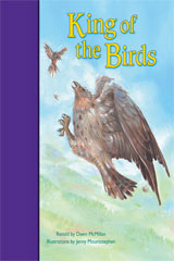 Rigby PM Stars Bridge Books  Individual Student Edition Purple King of the Birds-9781419055133